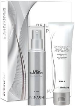 Bộ sản phẩm trẻ hóa và bảo vệ da Jan Marini Rejuvenate & Protect Antioxidant DFP