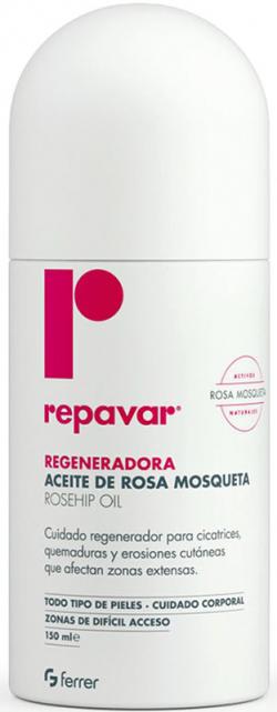 Chai xịt tinh dầu tầm xuân làm lành vết thương, sẹo Repavar Regeneradora Rosehip Oil Spray