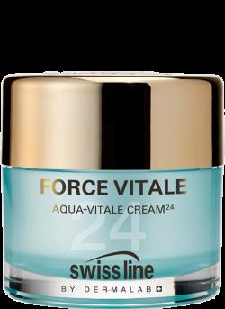 Kem tiếp nước hồi sinh da cấp tốc Swissline Aqua Vitale Cream 24