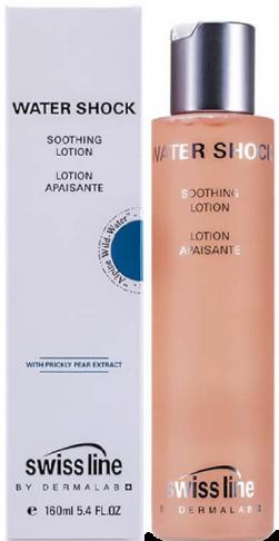 Dung dịch cân bằng và làm êm dịu da Swissline Water Shock Soothing Lotion