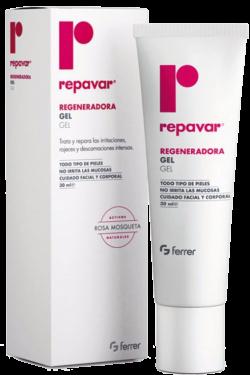 Gel làm lành sẹo và phục hồi da Repavar Regeneradora Gel 30ml