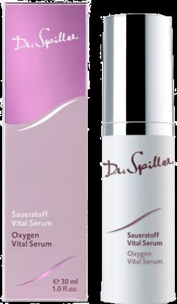 Serum dưỡng ẩm chống kích ứng sáng da cung cấp oxy Dr Spiller Oxygen Vital Serum 30ml
