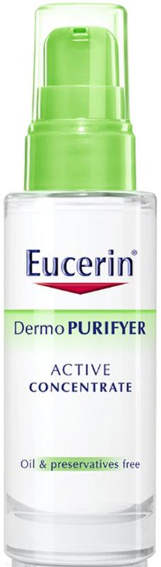 Tinh chất dưỡng da hỗ trợ giảm mụn Eucerin Dermo Purifyer Active Concentrate