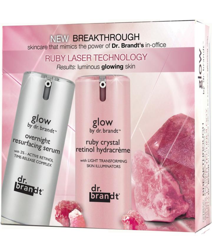 Bộ sản phẩm du lịch Dr.Brandt Glow Ruby Laser Technology