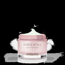 Kem đặc trị phục hồi da nhạy cảm và đỏ da dị ứng Force Vitale Aqua - Calm Cream