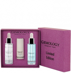 Bộ sản phẩm chăm da chứa tinh chất chứa kim cương, đá malachite Gemology Limited Edition