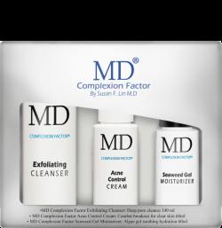 Bộ sản phẩm kem giúp giảm mụn MD Complexion Factor