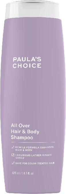 Dầu gội và tắm cao cấp 2 trong 1 Paula's Choice All Over Hair & Body Shampoo