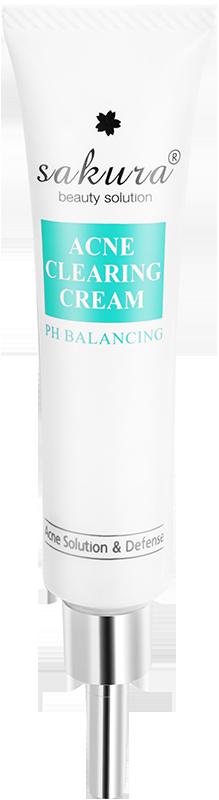 Kem giảm mụn Sakura Acne Clearing Cream