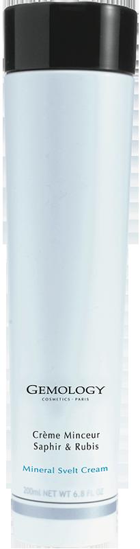 Kem làm tan mỡ chứa đá Sapphire Và Ruby Gemology Mineral Svelt Cream