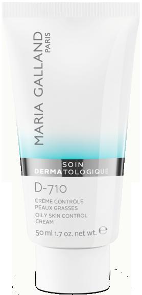 Kem làm sáng da, kiểm soát dầu, làm giảm và ngăn ngừa mụn Maria Galland Oily Skin Control Cream D-710