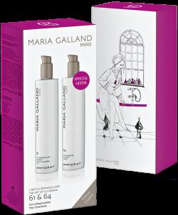 Bộ đôi sữa rửa mặt và nước hoa hồng Maria Galland L'art Du Démaquillage The Art Of Cleansing 61 & 64