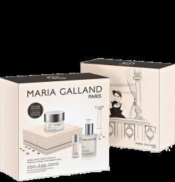 Bộ nâng cơ 3D, săn chắc và giảm chảy xệ cho da lão hóa Maria Galland Profilift Ritual For Smooth Skin 250 & 249 & 0010