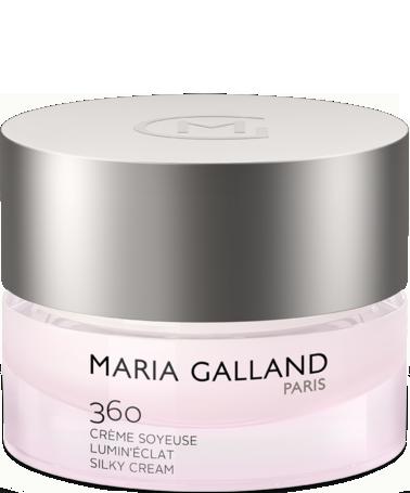 Kem dưỡng sáng da, cung cấp năng lượng tức thì Maria Galland Lumin'Éclat Silky Cream 360