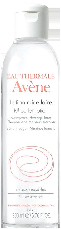 Lotion rửa mặt tẩy trang cho da nhạy cảm ửng đỏ Avène Micellar Lotion