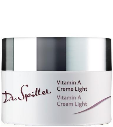 Kem dưỡng da chống lão hóa Dr Spiller Vitamin A Cream Light