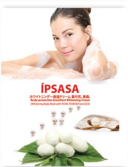 Kem tắm trắng Ipsasa từ ngọc trai và tơ tằm
