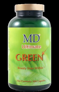 Viên uống giúp giảm mụn làm đẹp da giải độc tố MD Ultimate Green