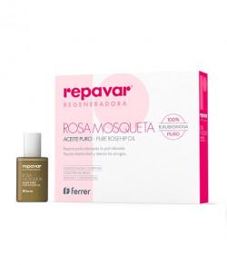 Tinh dầu tầm xuân làm lành vết thương Repavar Regeneradora Pure Rosehip Oil