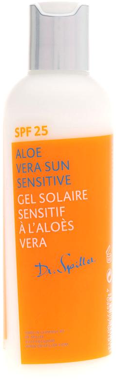 Kem chống nắng dạng sữa lô hội cho da nhạy cảm DR Spiller Aloe Vera Sun Sensitive Gel SPF 25
