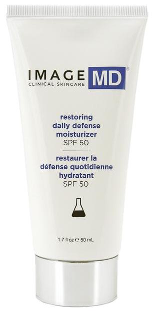 Kem chống nắng chống lão hóa da Image MD Restoring Daily Defense Moisturizer SPF 50+