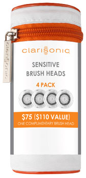 Bộ đầu cọ rửa mặt Clarisonic Brush Head Sensitive 4 Pack