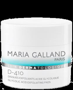 Cotton cân bằng và tẩy da chết Maria Galland Glycolic Acid Exfoliating Pads D-410
