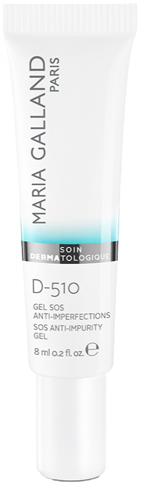 Gel chấm mụn, kiểm soát dầu, thu nhỏ lỗ chân lông Maria Galland SOS Anti-Impurity Gel D-510