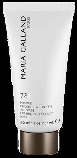 Mặt nạ tươi mát xóa dấu vết thời gian Maria Galland Activ'Age Freshness & Comfort Mask 721