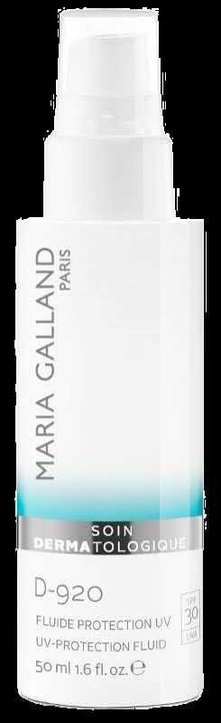 Sữa chống nắng, ngăn ngừa lão hóa và chống ô nhiễm Maria Galland UV Protection Fluid SPF30 D-920