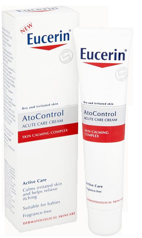 Kem dưỡng giảm ngứa đỏ da Eucerin Ato Control Acute Care
