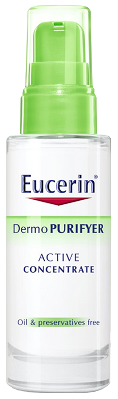 Tinh chất dưỡng da hỗ trợ giảm mụn Eucerin Dermo Purifyer Active Concentrate