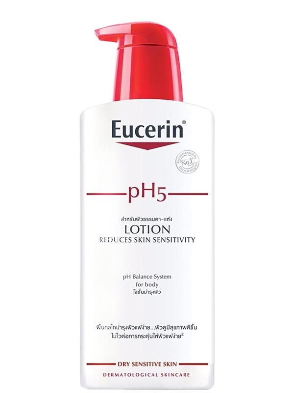 Sữa dưỡng thể cho da nhạy cảm Eucerin pH5 Lotion
