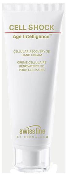 Kem dưỡng da tái tạo tế bào, trẻ hóa da cho đôi tay Swissline Cell Shock Age Cellular Recovery 3D Hand Cream
