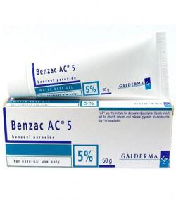 Kem trị mụn Benzac AC 5‰