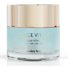 Gel sinh học giảm bọng mỡ & quầng thâm mắt Swissline Force Vitale Aqua - Vitale De-Puffing Eye Gel