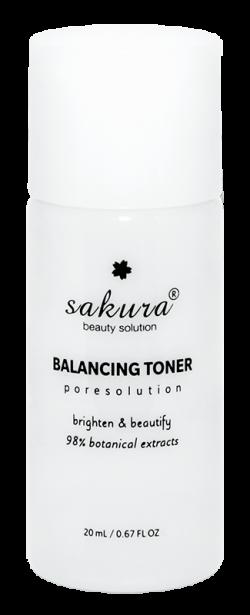 Nước cân bằng da Sakura Balancing Toner 20ml