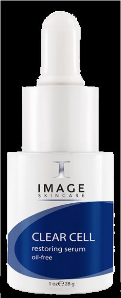 Serum làm dịu da, kiểm soát bã nhờn, kháng khuẩn Image Skincare Clear Cell Restoring Serum Oil Free