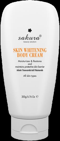 Kem dưỡng trắng da toàn thân Sakura Skin Whitening Body Cream