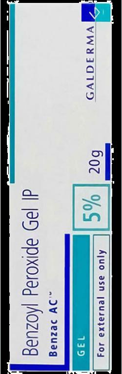 Gel trị mụn Benzac AC Benzoyl Peroxide Gel IP 5‰