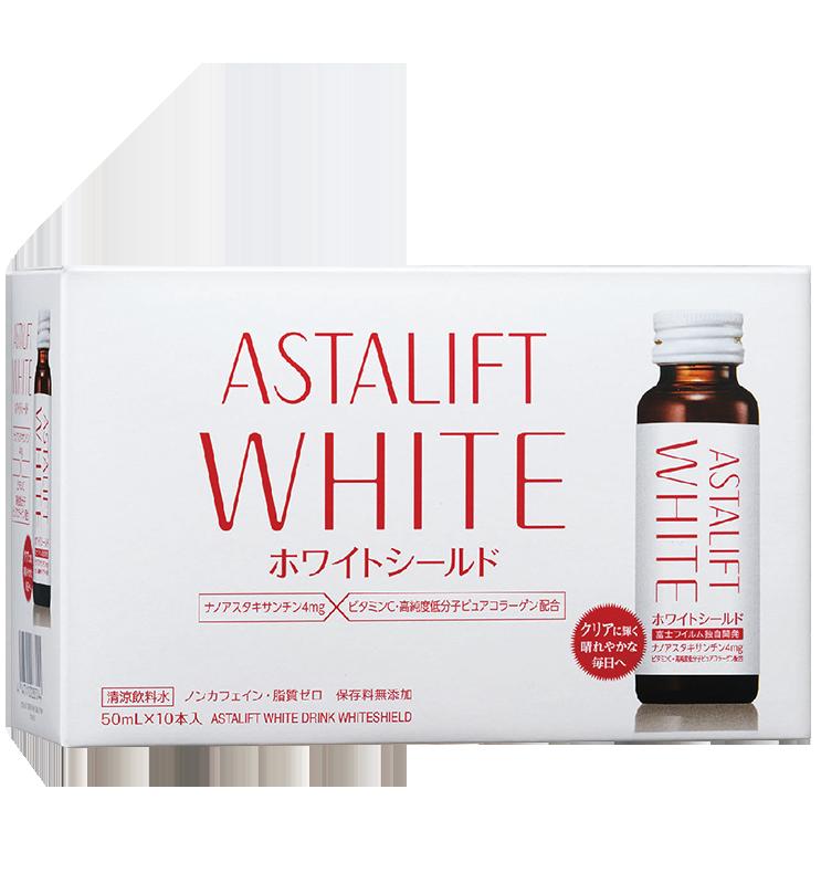 Nước uống làm sáng da Astalift White Drink Whiteshield (10 chai)