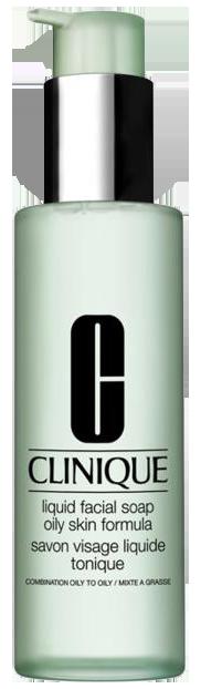 Sữa rửa mặt cho da dầu, hỗn hợp dầu Clinique Liquid Facial Soap Oily Skin Formula