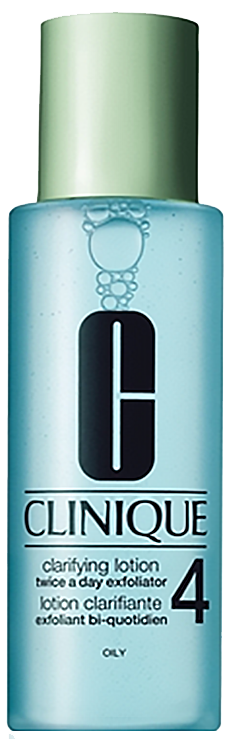 Nước hoa hồng dành cho da dầu Clinique Clarifying Lotion Twice a Day Exfoliator 4