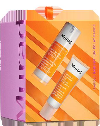 Bộ sản phẩm giảm thâm nám cao cấp Murad Rapidly Radiant Skincare Gift Set