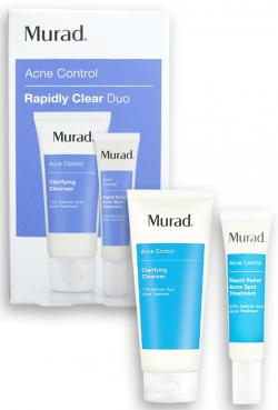 Bộ đôi giảm mụn Murad Acne Control Rapidly Clear Duo