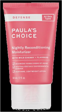 Kem dưỡng ẩm cho làn da mềm mịn Paula's Choice Defense Nightly Reconditioning Moisturizer 60ml