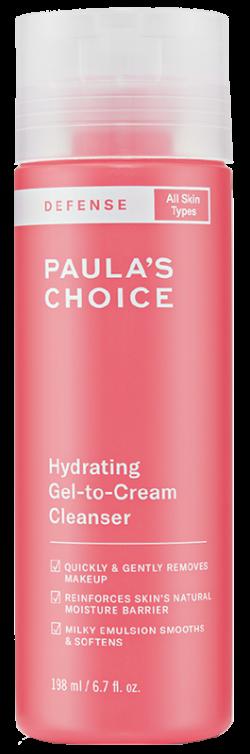 Sữa rửa mặt dành cho mọi loại da Paula's Choice Defense Hydrating Gel to Cream Cleanser 198ml