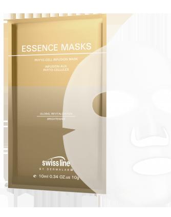 Mặt nạ đột phá tế bào trẻ hóa da & tái tạo da toàn diện Swissline Essence Masks Phyto Cell Infusion Mask