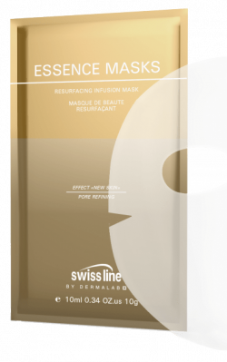 Mặt nạ tế bào trẻ hóa & thay mới cấu trúc bề mặt da toàn diện Swissline Essence Masks Resurfacing Infusion Mask