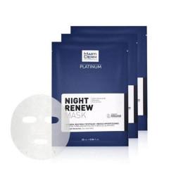 Mặt nạ phục hồi da cao cấp ban đêm Marti Derm Night Renew Mask